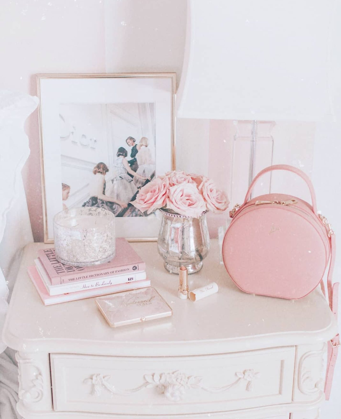 A Girly Glam Bedroom Makeover J Adore Lexie Couture