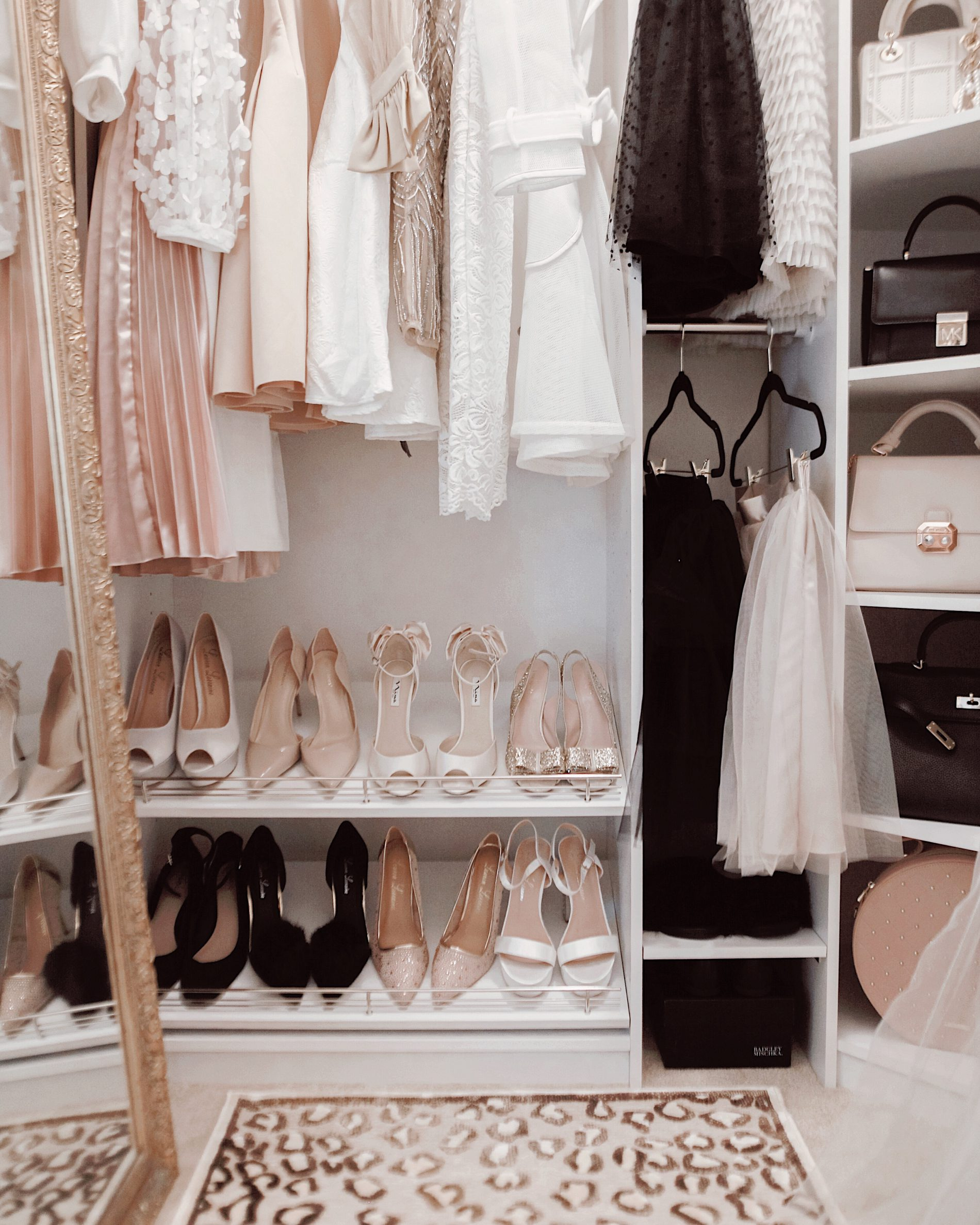 A Pretty Couture Closet Makeover